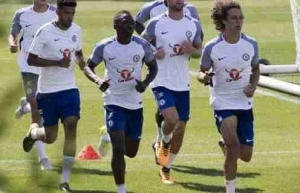 Victor Moses, Omeruo Train As Chelsea Begin Pre-Season (Pictured)